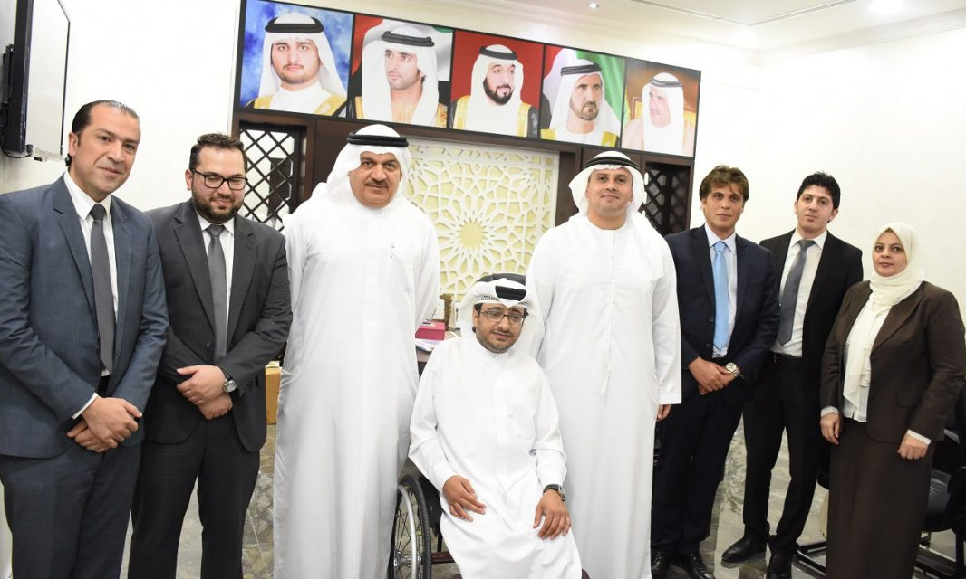 A delegation from Al Falah University collaborated with the Dubai Club for the Disabled