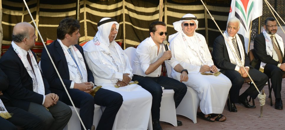 Mr. Mohammad Haneidi Visited AFU for National Day Celebration