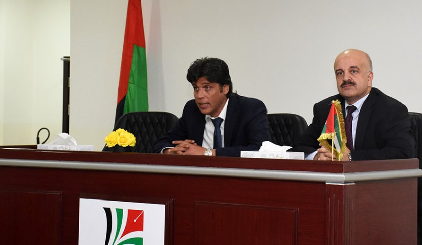 AFU Vice President for Academic Affairs meets Administrative Staff