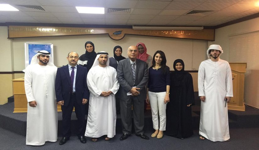 Academic Staff and Students from Al-Falah University Visit Juma Al Majid Center for Culture and Heritage