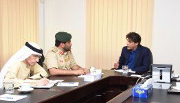 Delegation from the General Directorate of Traffic – Dubai Police visits  Al Falah University