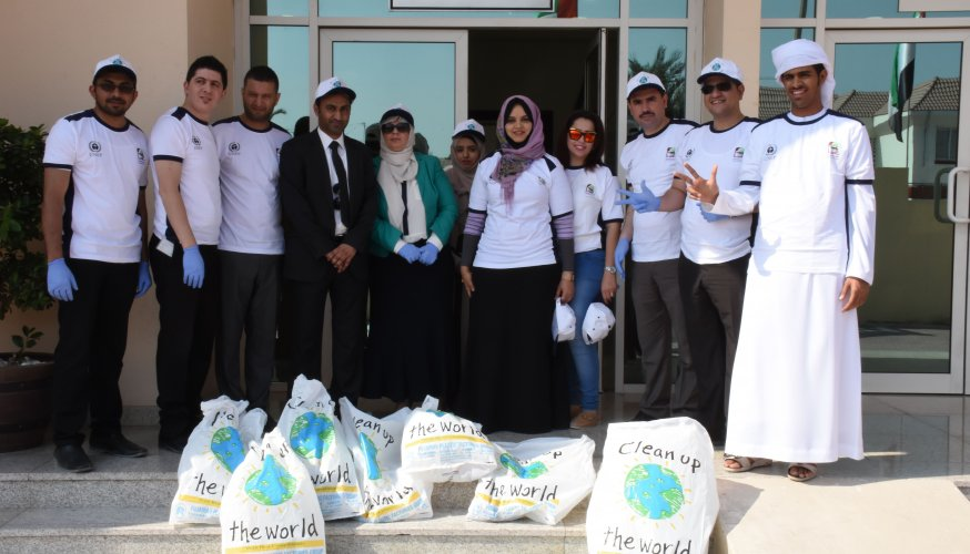 Clean Up the World in Dubai