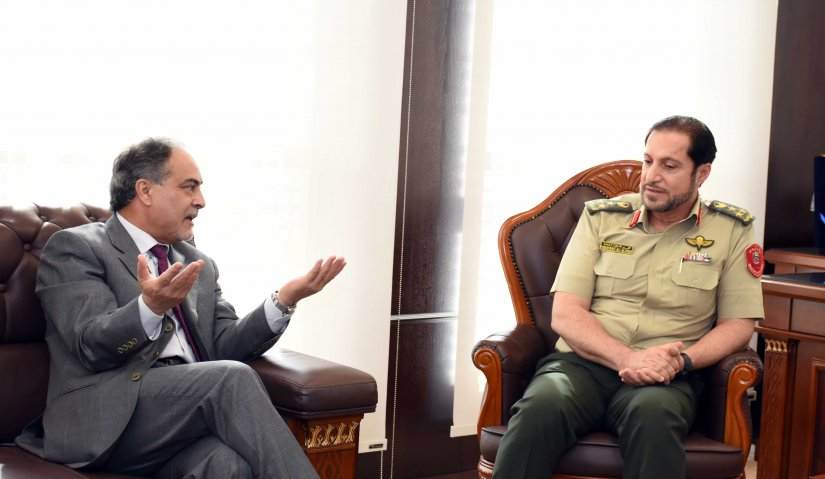 Al Falah University and Ministry of Defense Discuss Cooperation