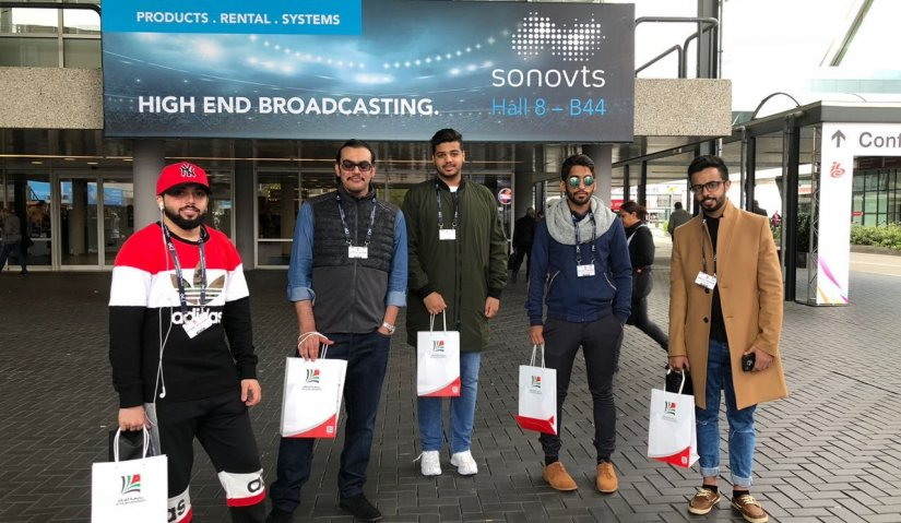 Al Falah University Participate in the International Media and Communication Technologies Exhibition (IBC) in Netherlands