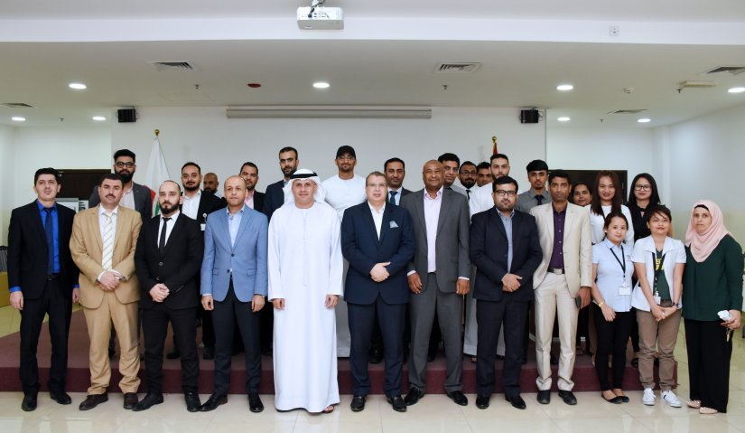 Al Falah University family exchange greetings for Eid Al - Adha