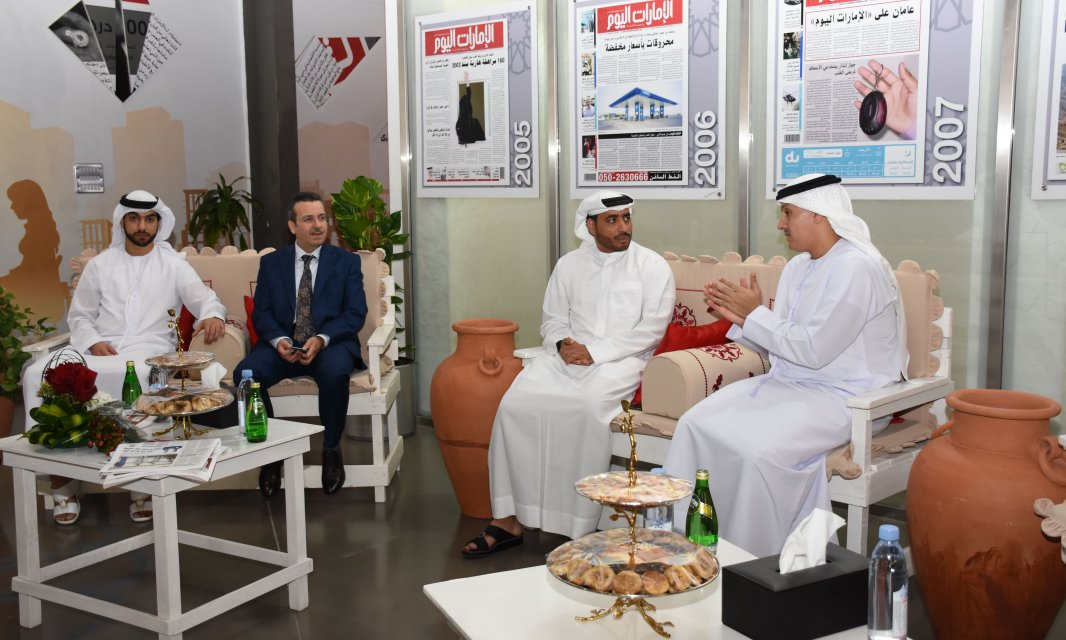 Al Falah University and Emirates Newspaper Discuss Cooperative Agreement