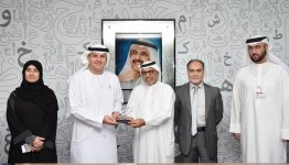Al Falah University Discusses Ways to Cooperate with the Hamdan bin Rashid Al Maktoum Foundation for