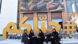 Al Falah University students visit Expo 2020 site