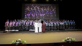 Sheikh Juma bin Maktoum attends 1st Al Falah University Commencement