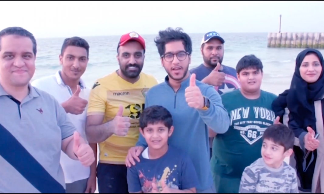 Students participate in Dubai Fitness Challenge